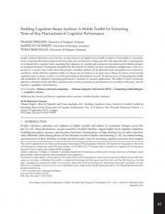 Building Cognition-Aware Systems: A Mobile Toolkit for Extracting Time-of-Day Fluctuations of Cognitive Performance